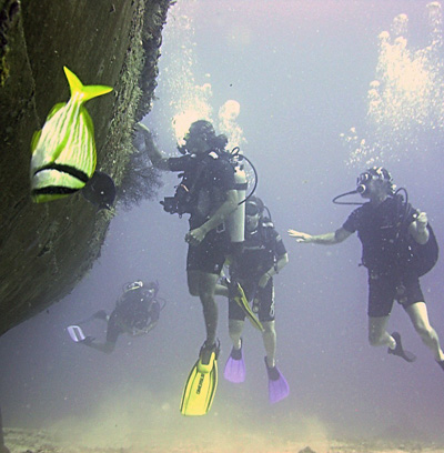 Deep Scuba Diver PADI specialty course in the Twin Cities of Minneapolis and St. Paul, by MidWest School of Diving, located in White Bear Lake, Minnesota